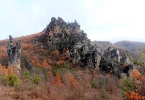 Каньонът на река Шегава @ село Ръждавица